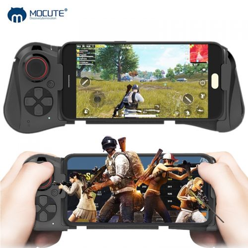 Wireless Game pad Bluetooth Joystick Telescopic Controller Gaming Gamepad For iPhone and Android Support Cross Fire