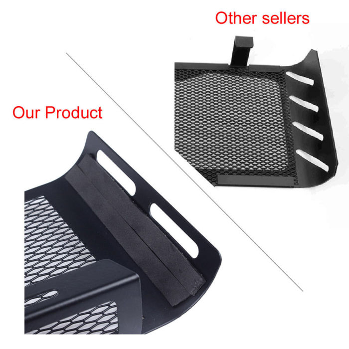 For BMW R Nine T R1200R Radiator Guard Grille R9T Oil Cooler Protection Cover 2014 2015 2016 2017 2018 3