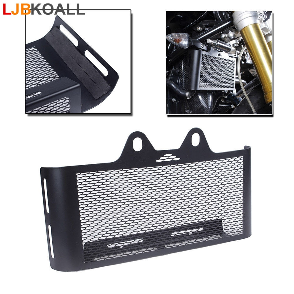 For BMW R Nine T R1200R Radiator Guard Grille R9T Oil Cooler Protection Cover 2014 2015 2016 2017 2018