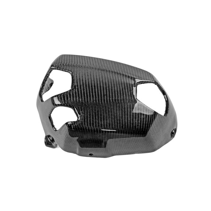 2PCS Motorcycle Cylinder Head Guards Protector Cover Carbon FiberFor BMW R1200GS 2010-2012 and BMW R NINET 2014-2018 1