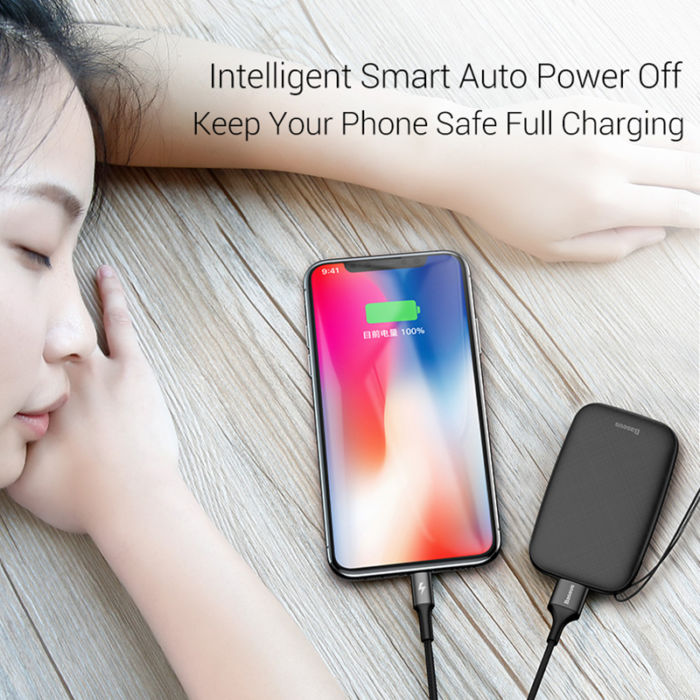 Baseus Mini Power Bank 10000mAh 4