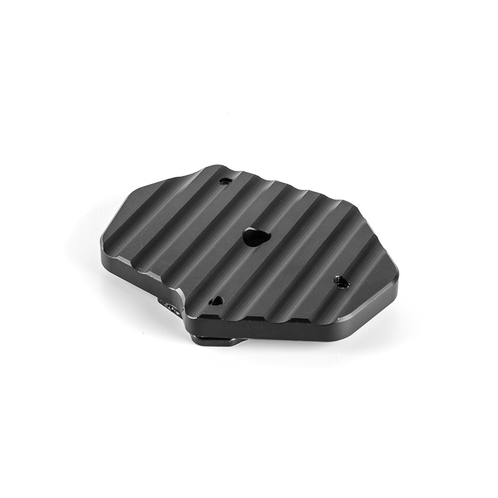 CNC Aluminum Side Kickstand Stand Extension Plate For BMW R Nine-T  4