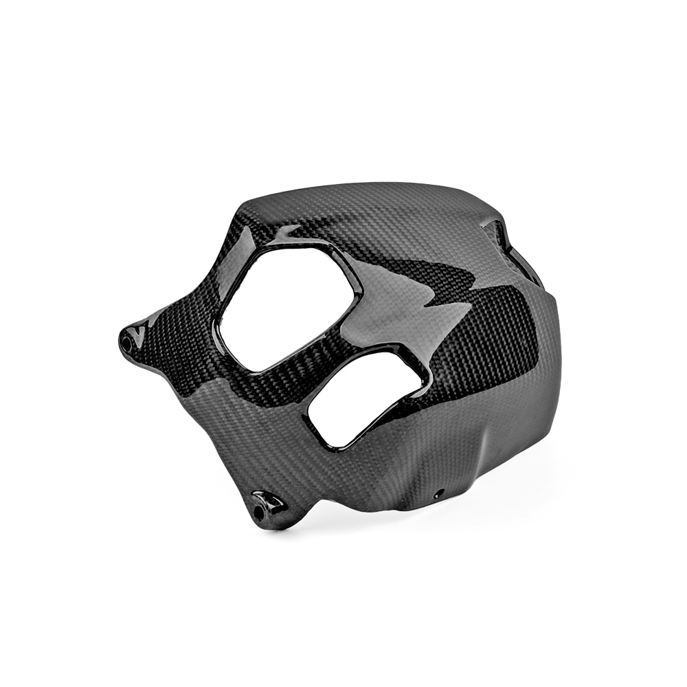 2PCS Motorcycle Cylinder Head Guards Protector Cover Carbon FiberFor BMW R1200GS 2010-2012 and BMW R NINET 2014-2018 3