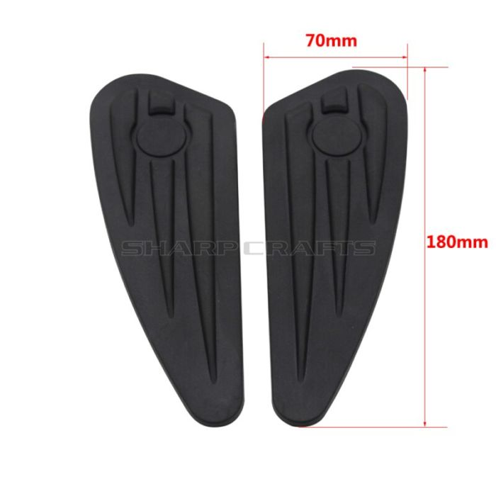Motorcycle Gas Tank Pads Anti Slip Grip Traction Pad Sticker Side Fuel Decals For Harley Sportster XL 883 1200 X48 Street XG750 2