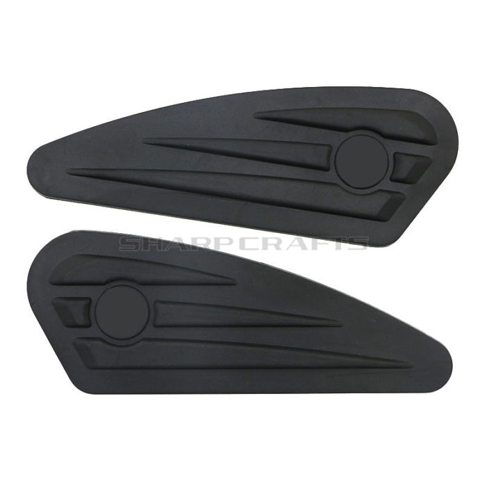 Motorcycle Gas Tank Pads Anti Slip Grip Traction Pad Sticker Side Fuel Decals For Harley Sportster XL 883 1200 X48 Street XG750 3