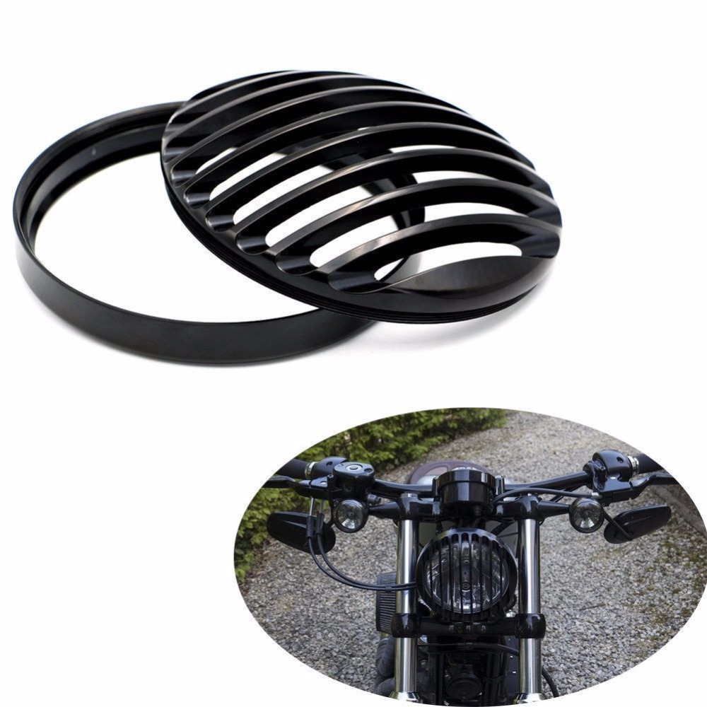 For Harley Sportster XL 883 Iron 1200 04-14 Custom XL1200C 1200 Motorcycle 5 3/4 6