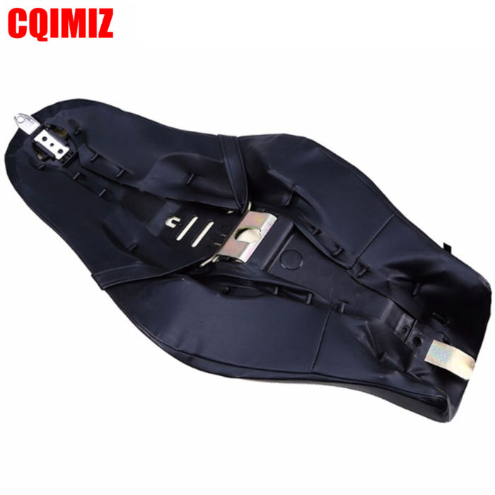 Motorcycle Saddle Seats Cushion Front Driver Rear Passenger Seat Leather PU Two Up For Harley Davidson Sportster XL 883 1200 6