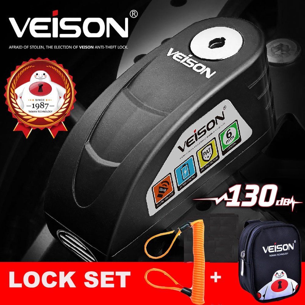 VEISON Motorcycle Waterproof Theft Protection 1