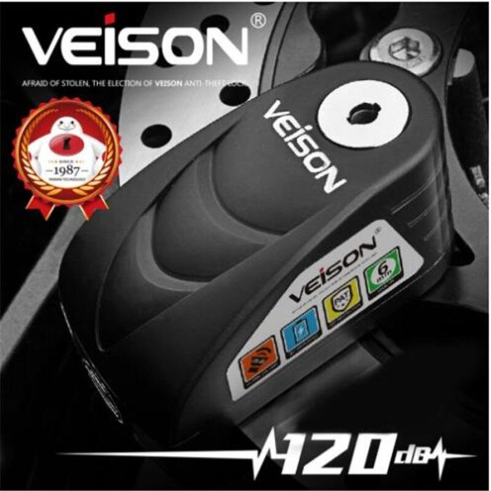 VEISON Motorcycle Waterproof Theft Protection 2