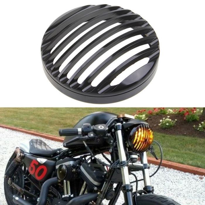 For Harley Sportster XL 883 Iron 1200 04-14 Custom XL1200C 1200 Motorcycle 5 3/4 2