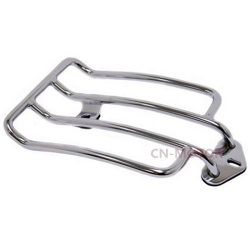Motorbike Steel Luggage Rack For Harley Sportster 883 1200 Forty Eight Seventy Two Custom Solo Seat 1