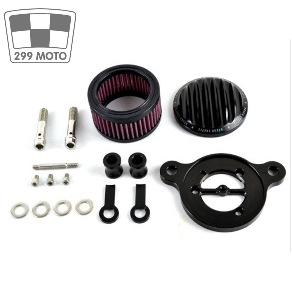 New hard crafts air cleaner filter inlet system for2004-2016 Harley Sportster XL 883 universal 1200 air cleaner filter 3