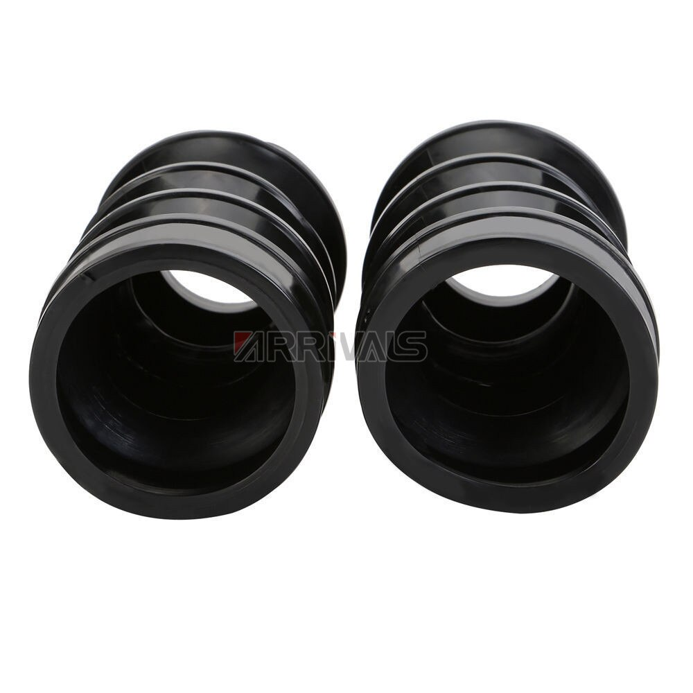 Motorcycle 39mm Rubber Motorcycle Fork Cover Gaiters Gators Boots  For Harley Sportster Dyna FX XL 883 4