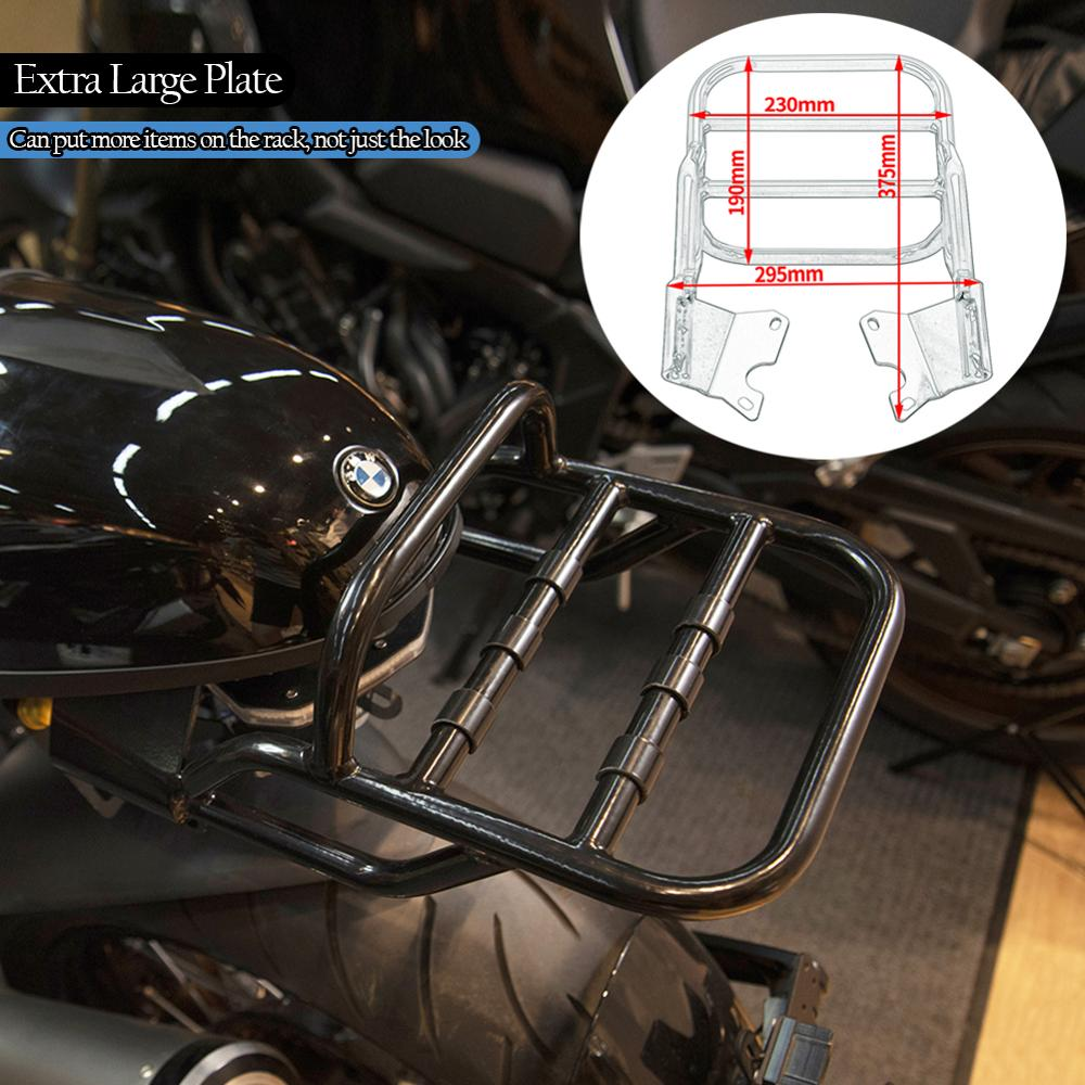 Motorcycle Rear Bag Support Luggage Rack Carrier Top Mount for BMW R NineT / Scrambler / Pure / Urban GS 2014-2020 2018 2019 2