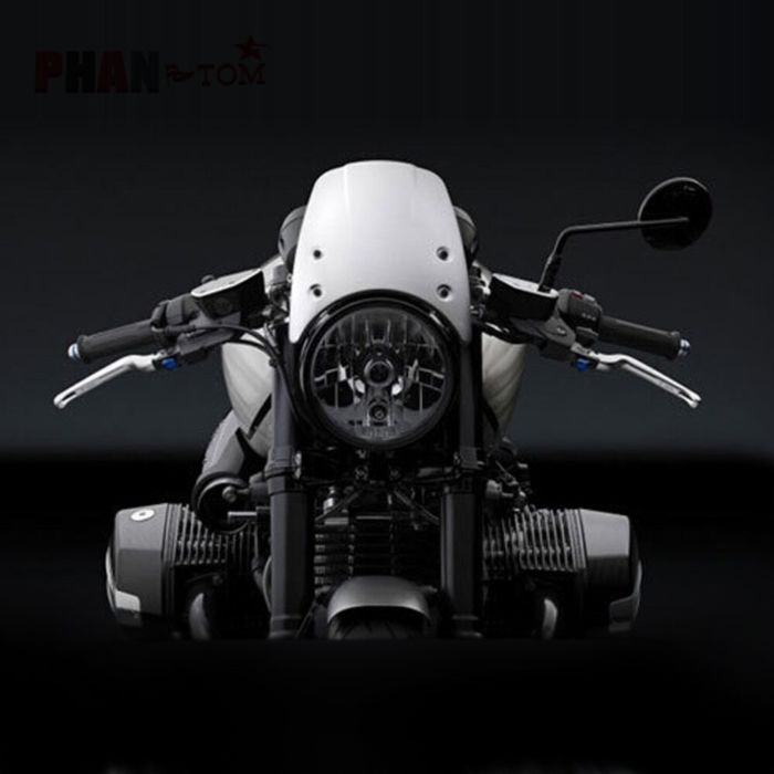 For BMW R NINE T NINET R9T R 9 T Racer Pure Urban scrambler 2014-2020 Motorcycle Windshield Aluminum Wind Deflector Windscreen 6