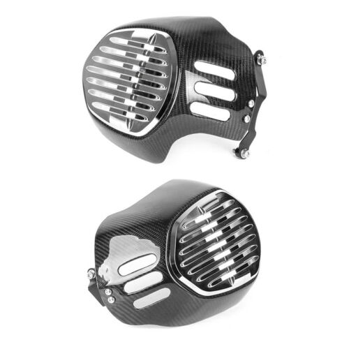 Carbon Fiber Motorcycle Cylinder Head Guards Protector Cover For BMW R1200GS 2010-2012 R NINET 2014-2017 1
