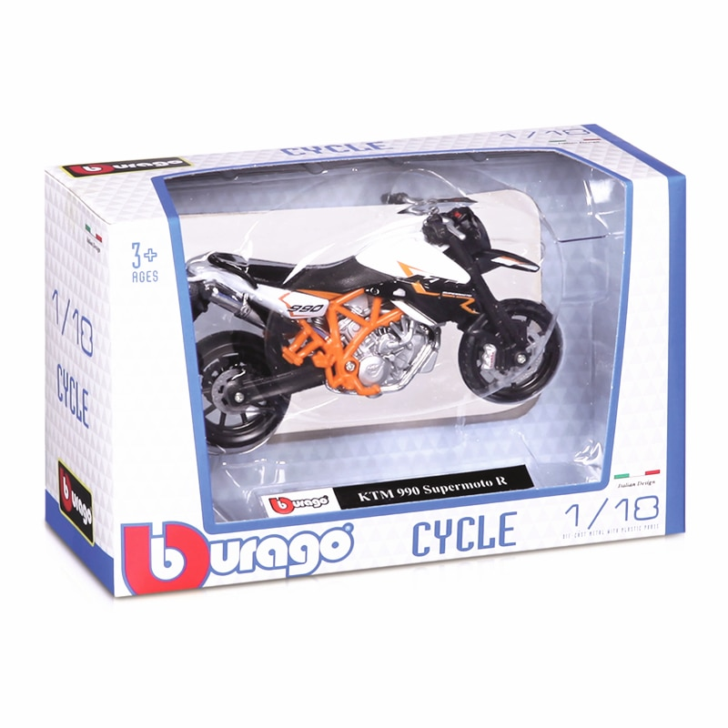Bburago 1:18 BMW R nineT Urban GS original authorized simulation alloy motorcycle model toy car gift collection 2