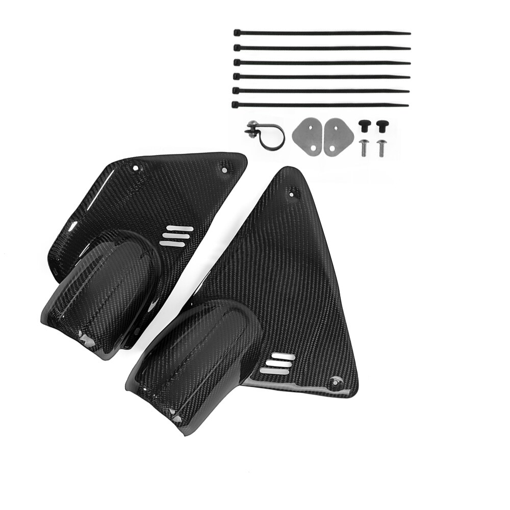 Motorcycle Carbon Fiber Airbox Cover Air Box Cover Protector Fairing for BMW R nine T R 9T RNINET Scrambler 4