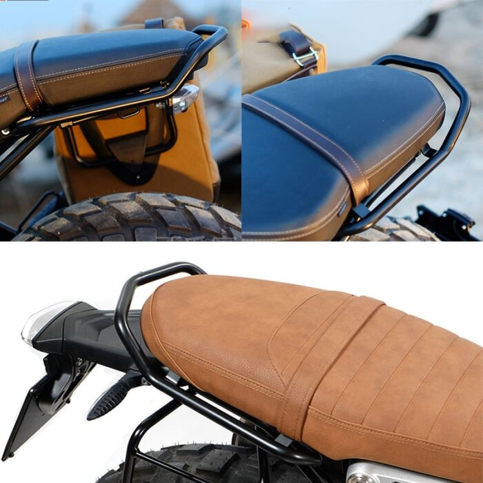 R NINE T Rear Seat Luggage Carrier Rack with Handle Grip For BMW R NINET R9T R 9 T 9T Pure Racer Scrambler 2014-2020 Motorcycle 1