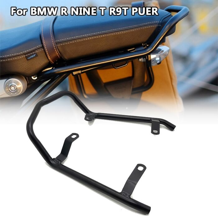 R NINE T Rear Seat Luggage Carrier Rack with Handle Grip For BMW R NINET R9T R 9 T 9T Pure Racer Scrambler 2014-2020 Motorcycle 6