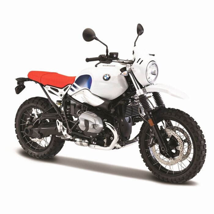Bburago 1:18 BMW R nineT Urban GS original authorized simulation alloy motorcycle model toy car gift collection 1