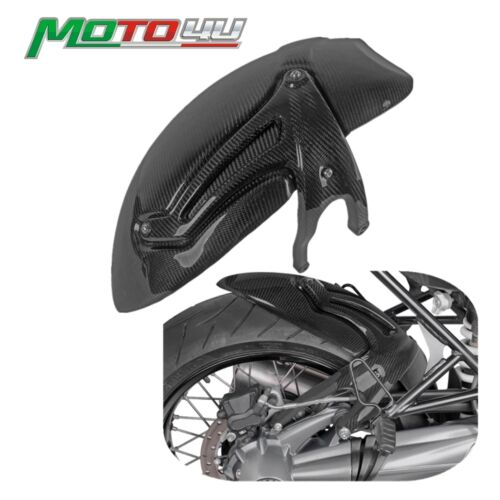 Real Carbon Motorcycle Rear Fender Mudguard Tire Hugger Fender Gloss For BMW R NINE T R NineT r9t  2014 2015 2016 2017 2018 2019 1