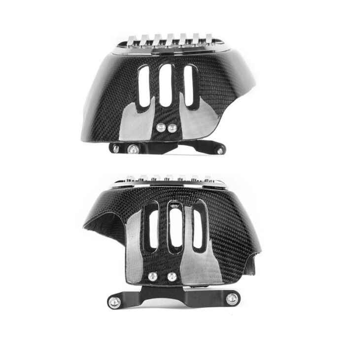 Carbon Fiber Motorcycle Cylinder Head Guards Protector Cover For BMW R1200GS 2010-2012 R NINET 2014-2017 3