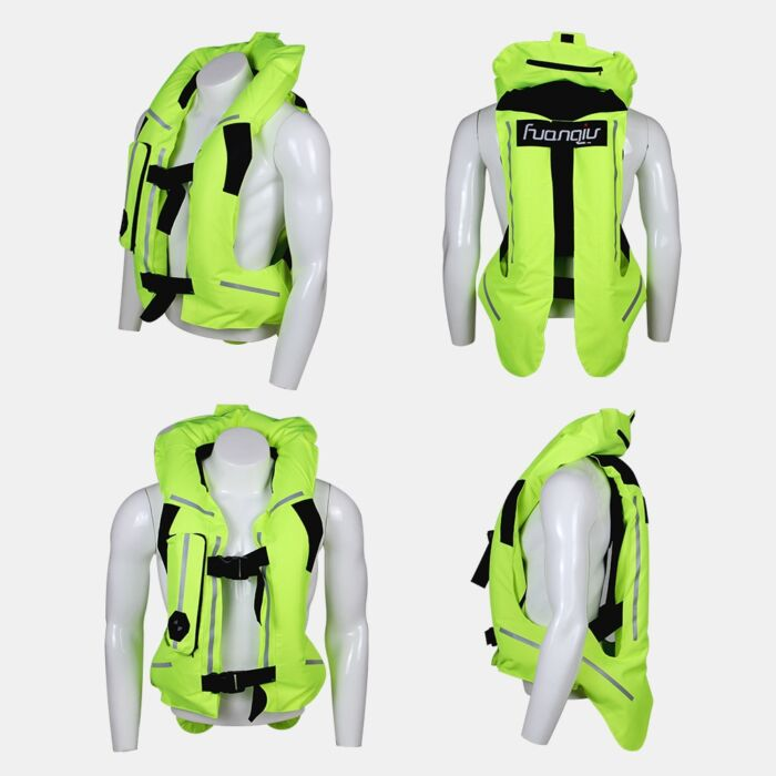 NEW Motorcycle Air-bag Vest Moto Racing Professional Advanced Air Bag System Motocross Protective Airbag Airbag Jacket 4