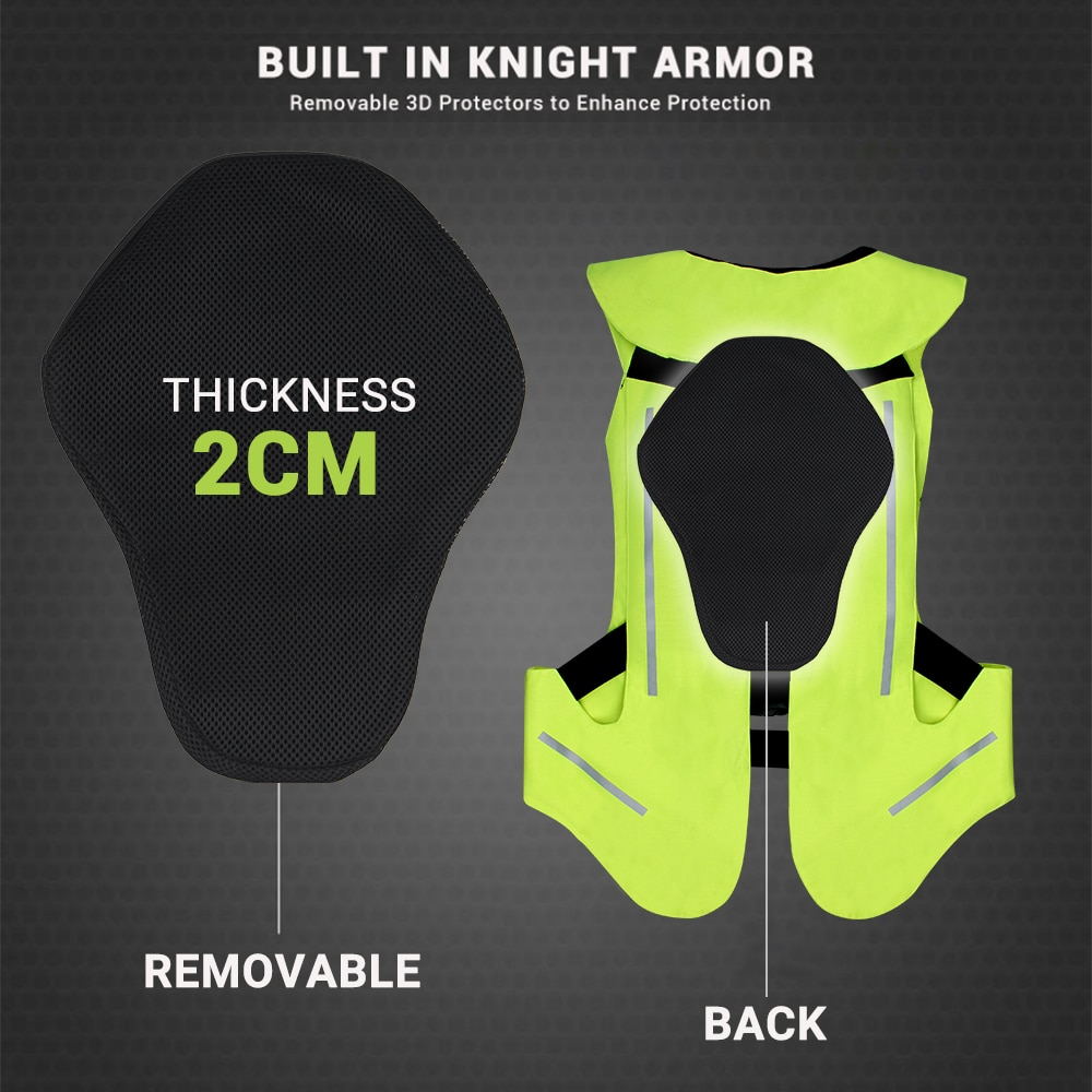 NEW Motorcycle Air-bag Vest Moto Racing Professional Advanced Air Bag System Motocross Protective Airbag Airbag Jacket 2