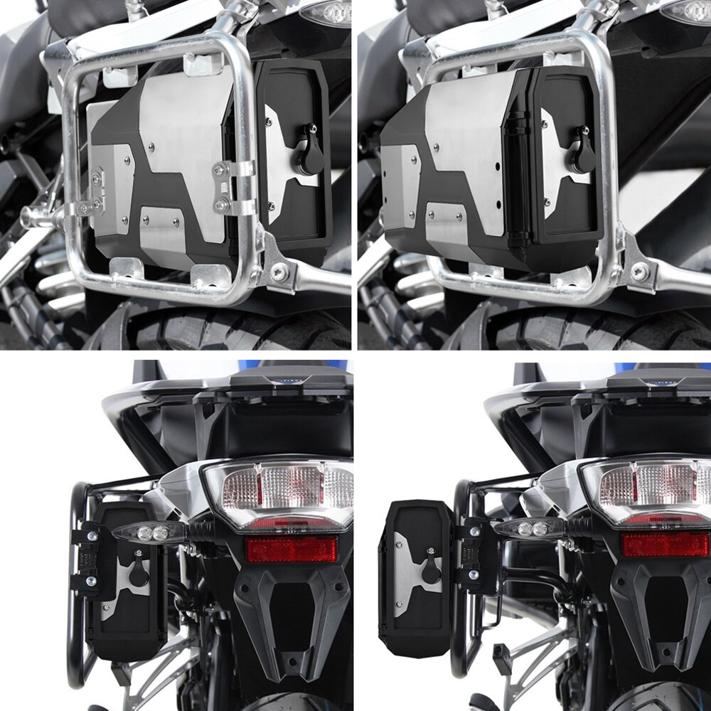 New Arrival! Tool Box For BMW r1250gs r1200gs lc & adv Adventure 2002 2008 2018 for BMW r 1200 gs Left Side Bracket Aluminum box 3