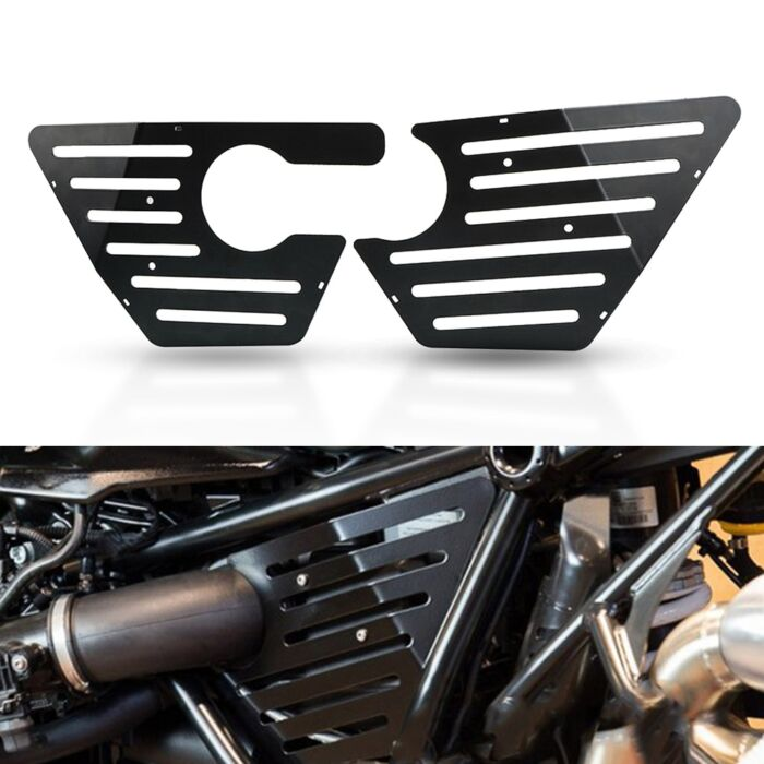 R NineT Motorcycle Airbox Frame Cover For BMW R Nine T Pure Racer Scrambler Urban GS 2014 - 2019 Air Box Cover Protector Fairing 3