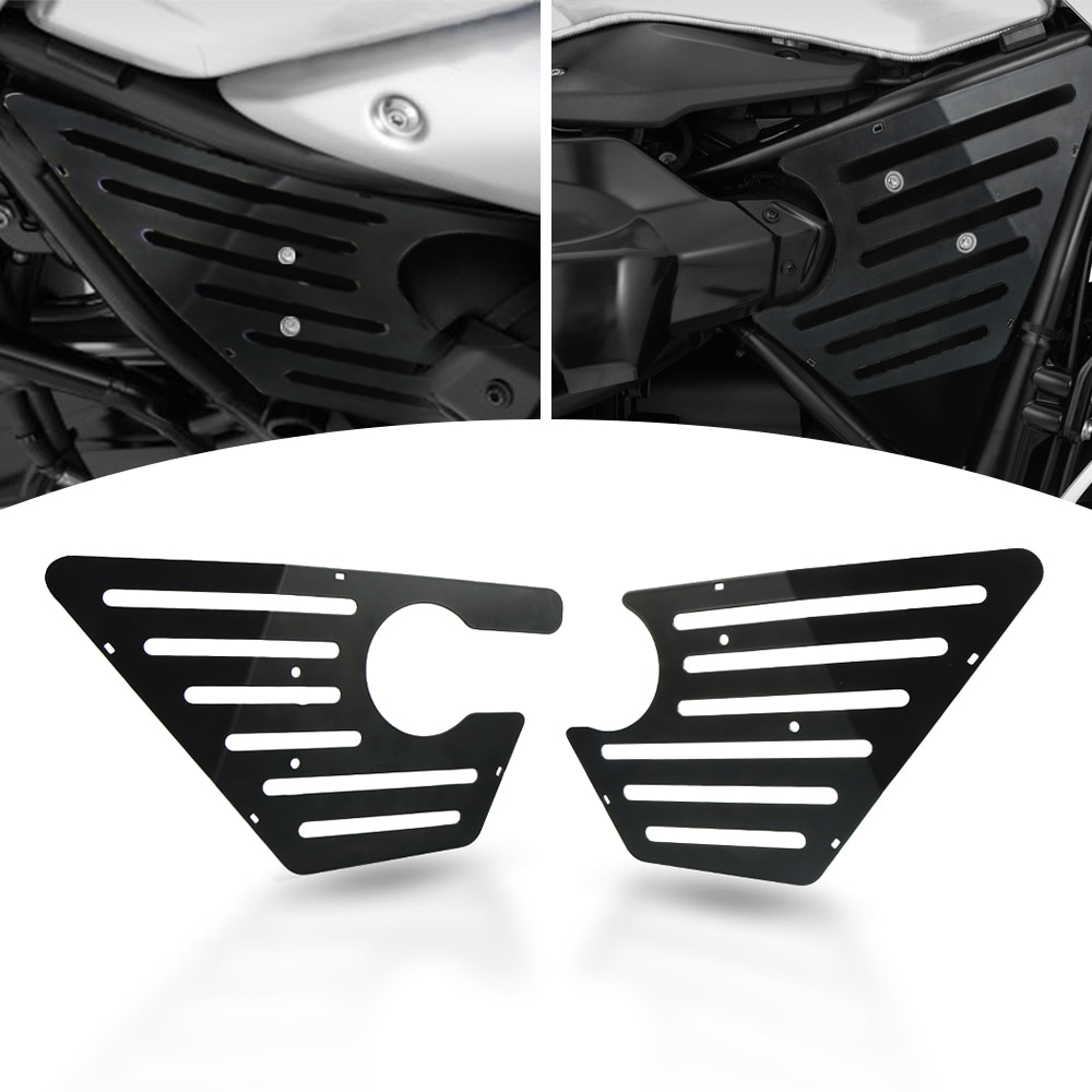 R NineT Motorcycle Airbox Frame Cover For BMW R Nine T Pure Racer Scrambler Urban GS 2014 - 2019 Air Box Cover Protector Fairing 4