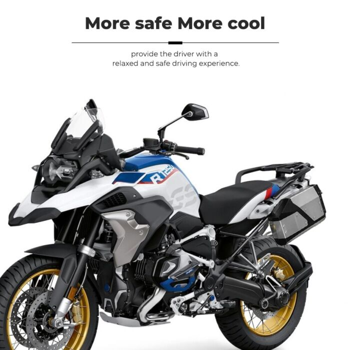 New Arrival! Tool Box For BMW r1250gs r1200gs lc & adv Adventure 2002 2008 2018 for BMW r 1200 gs Left Side Bracket Aluminum box 4